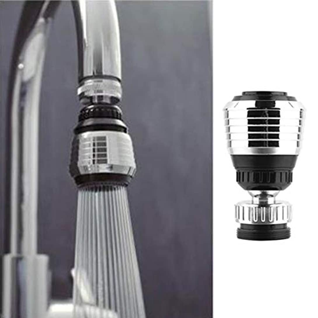 拾うリーブラウンboxiangxu Rotate Water Saving Tap Bubbler Aerator Diffuser Swivel Faucet Nozzle kitchen & bathroom filter nozzle...
