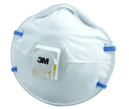 3M 使い捨て防じんマスク排気弁付き10枚 国家検定合格 8805 DS2