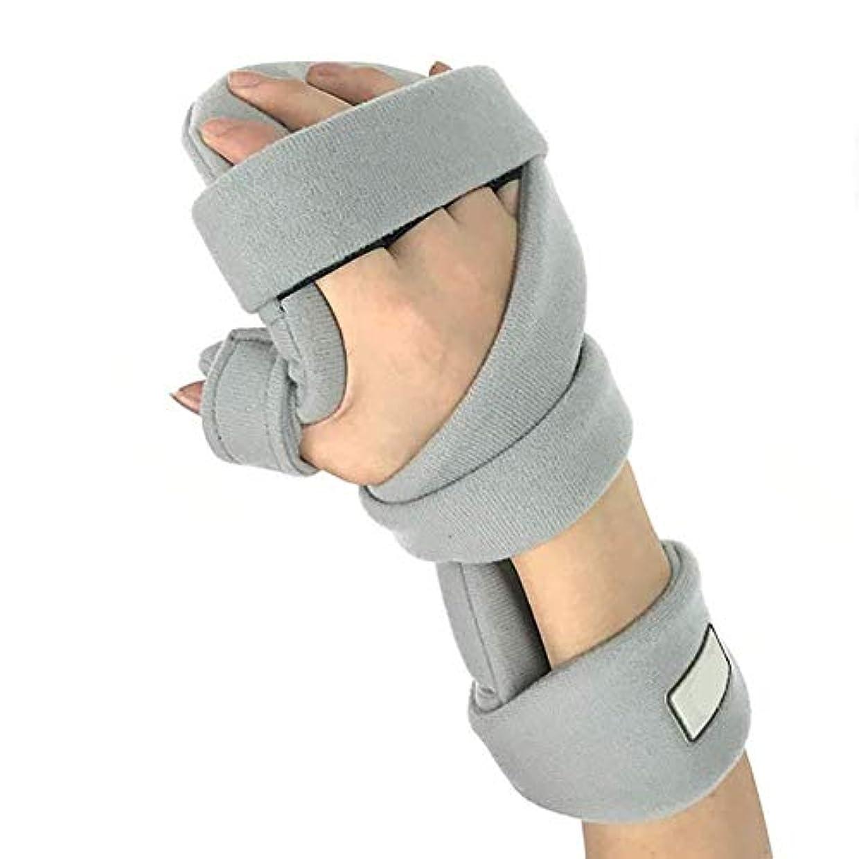新聞エトナ山苦情文句指トレーニング装置 - 指副子 - 脳卒中/片麻痺/手首の痛みのための脳卒中リハビリ機器指矯正装置 (Color : Right)
