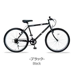 My Pallas(マイパラス) マウンテンバイク 26インチ6段変速 カラー/ブラック M-610S-BK