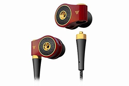 ラディウス ハイレゾ対応カナルイヤホン(ヌメロキャトル ルージュ)radius Dual Diaphragm Matrix In-ear Headphones HP-TWF41R