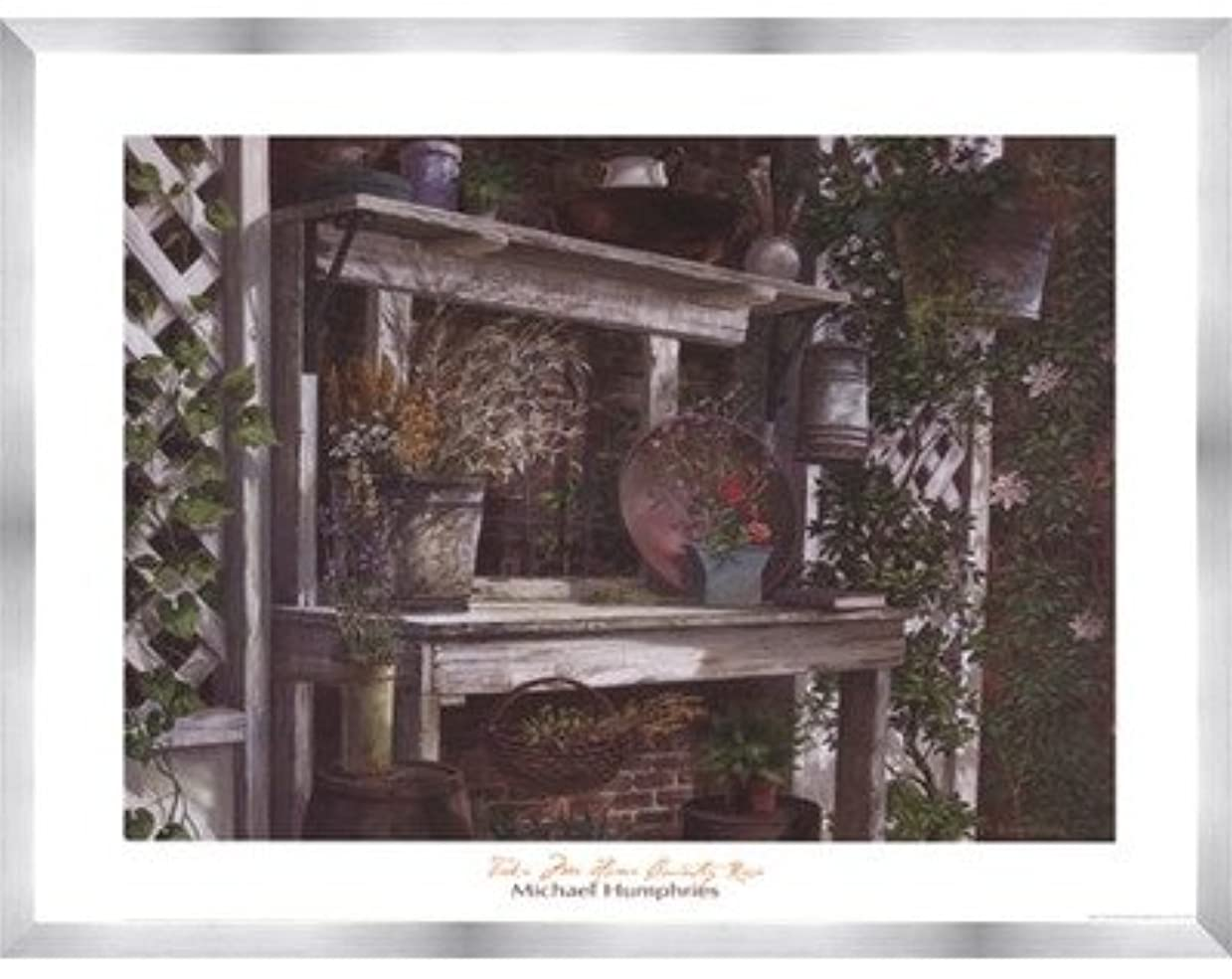 Take Me Home Country Rose by Michael Humphries – 28 x 22インチ – アートプリントポスター LE_115544-F9935-28x22