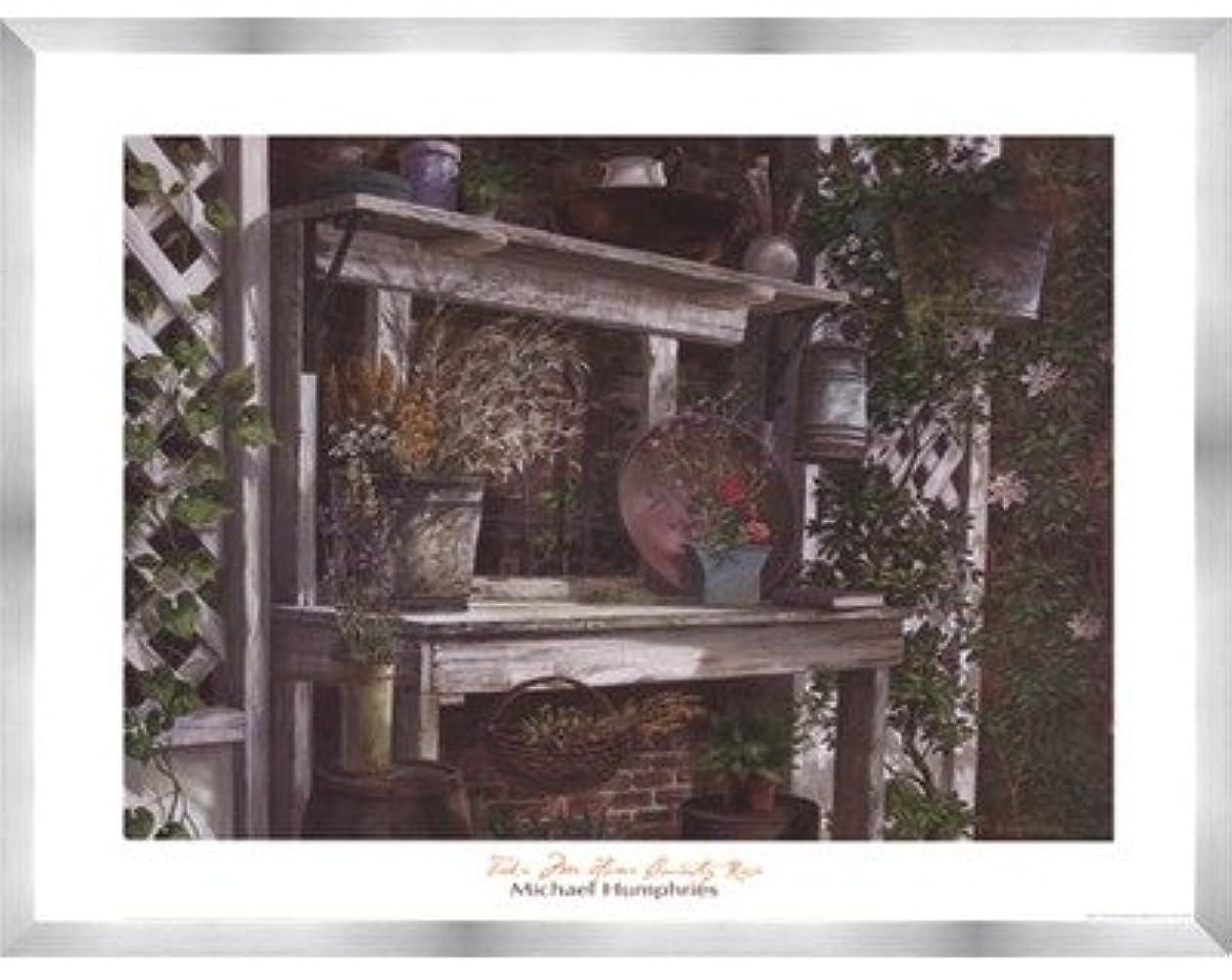 採用するふける中世のTake Me Home Country Rose by Michael Humphries – 28 x 22インチ – アートプリントポスター LE_115544-F9935-28x22