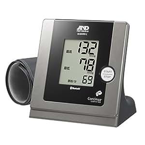 iPhone/iPadにBluetoothでつながる家庭用血圧計 UA-851BTC-JC
