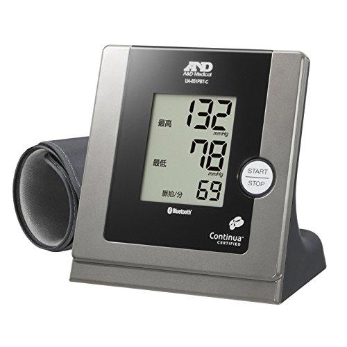 A&D iPhone/iPadにBluetoothでつながる家庭用血圧計 UA-851PBT-C-B