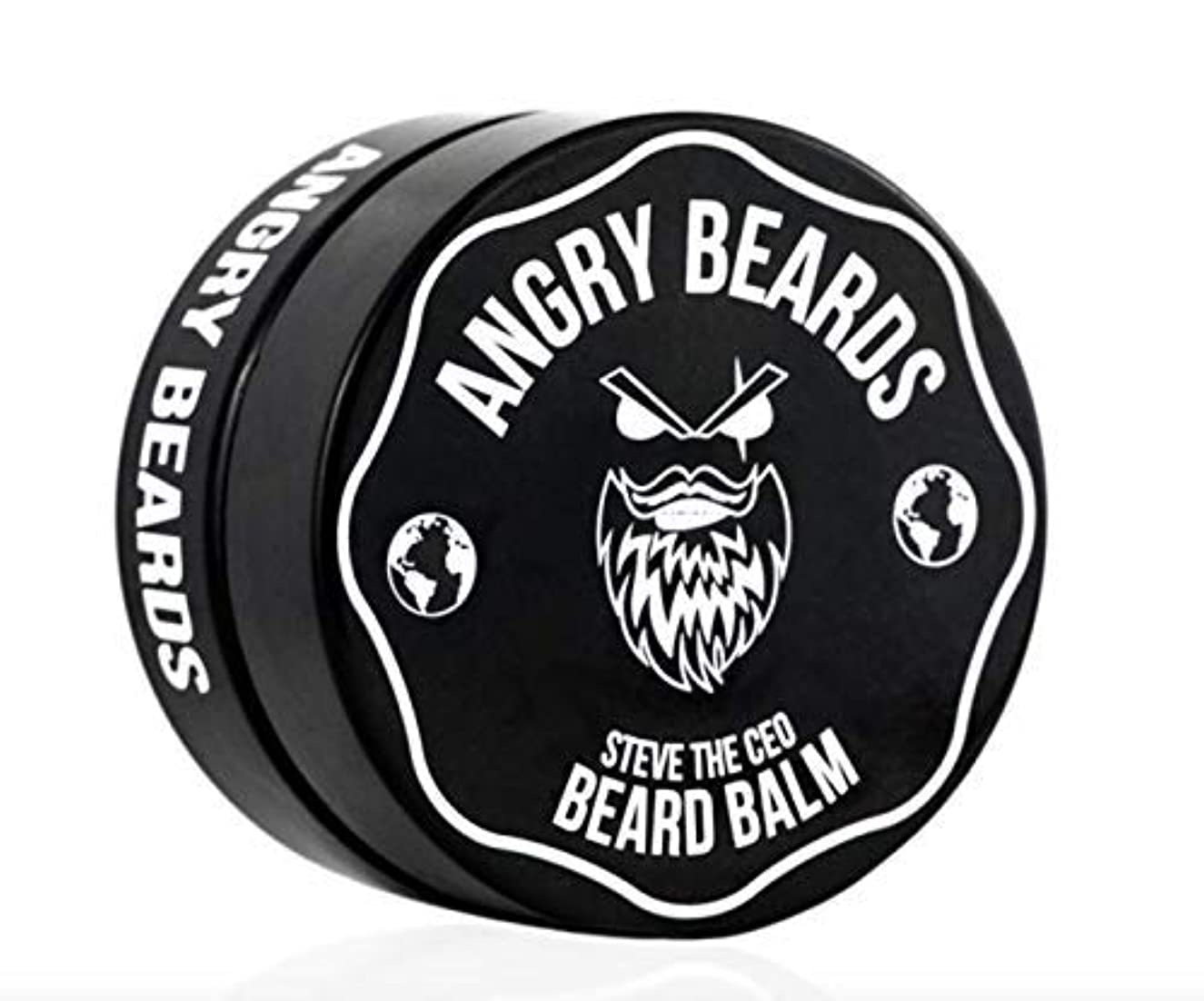 口径海外桃Steve The CEO Beard Balm by Angry Beards 50ml / スティーブザCEOビアードバームbyアングリービアード50ml Made in Czech Republic