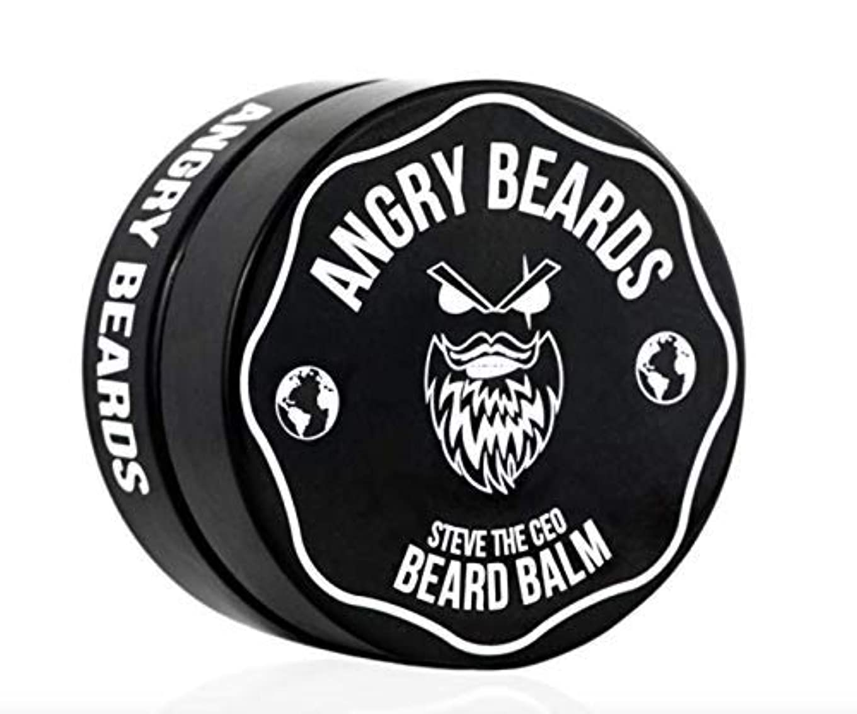 ミュート到着する運賃Steve The CEO Beard Balm by Angry Beards 50ml / スティーブザCEOビアードバームbyアングリービアード50ml Made in Czech Republic
