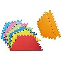 日本育児 フロアマット ミュージカルキッズランドDX専用 六角形マット 6ヶ月~3歳半対象 キッズランド専用のEVAマット