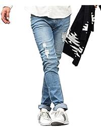 ジョーカーセレクト(JOKER Select) デニムパンツ メンズ スキニーパンツ アンクルパンツ デニム パンツ ダメージ ストレッチ スキニー
