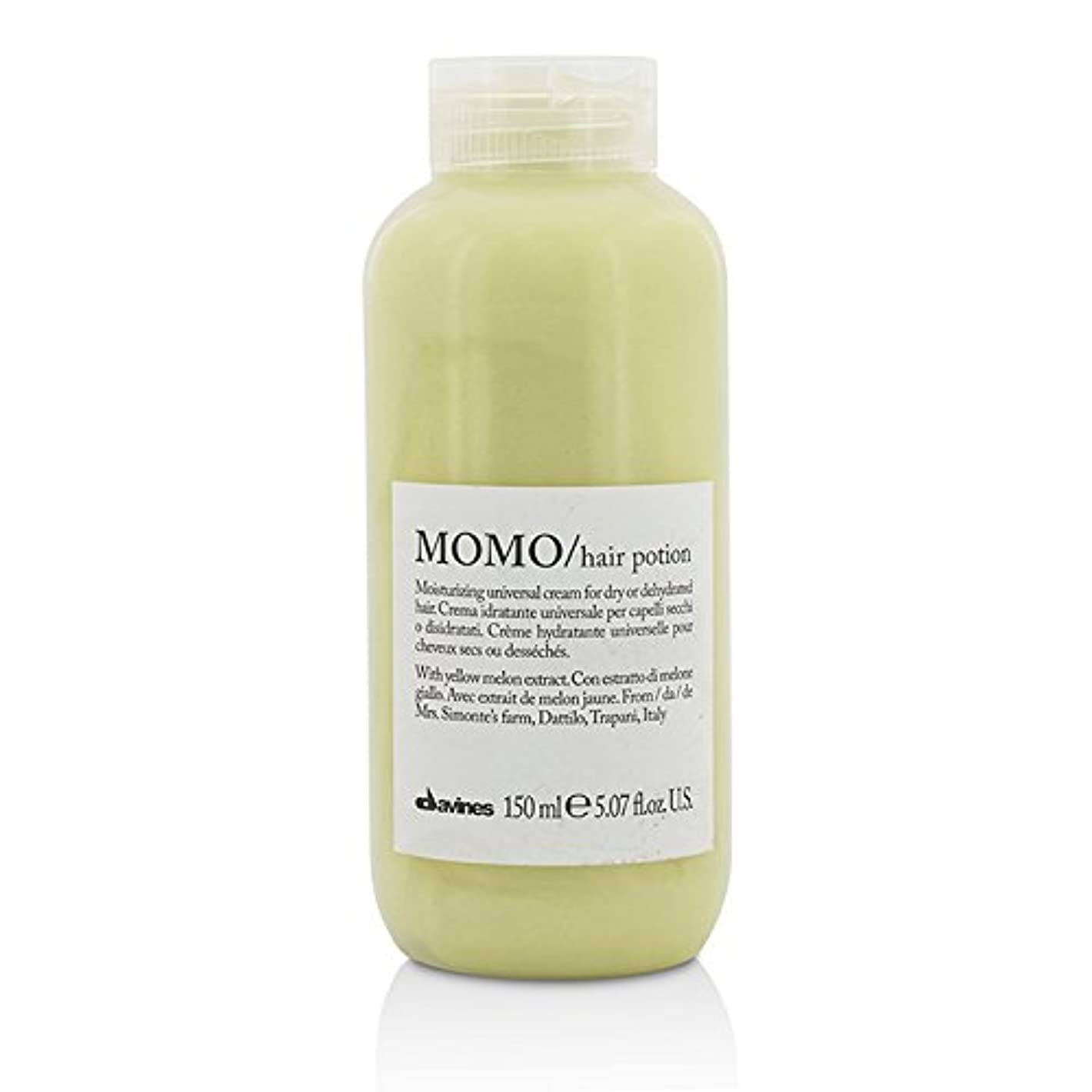 同級生付ける法令ダヴィネス Momo Hair Potion Moisturizing Universal Cream (For Dry or Dehydrated Hair) 150ml/5.07oz並行輸入品