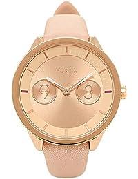 FURLA 時計 フルラ R4251102511 866650 METROPOLIS メトロポリス 31MM レディース腕時計 ウォッチ マグノリアピンク/ローズゴールド [並行輸入品]