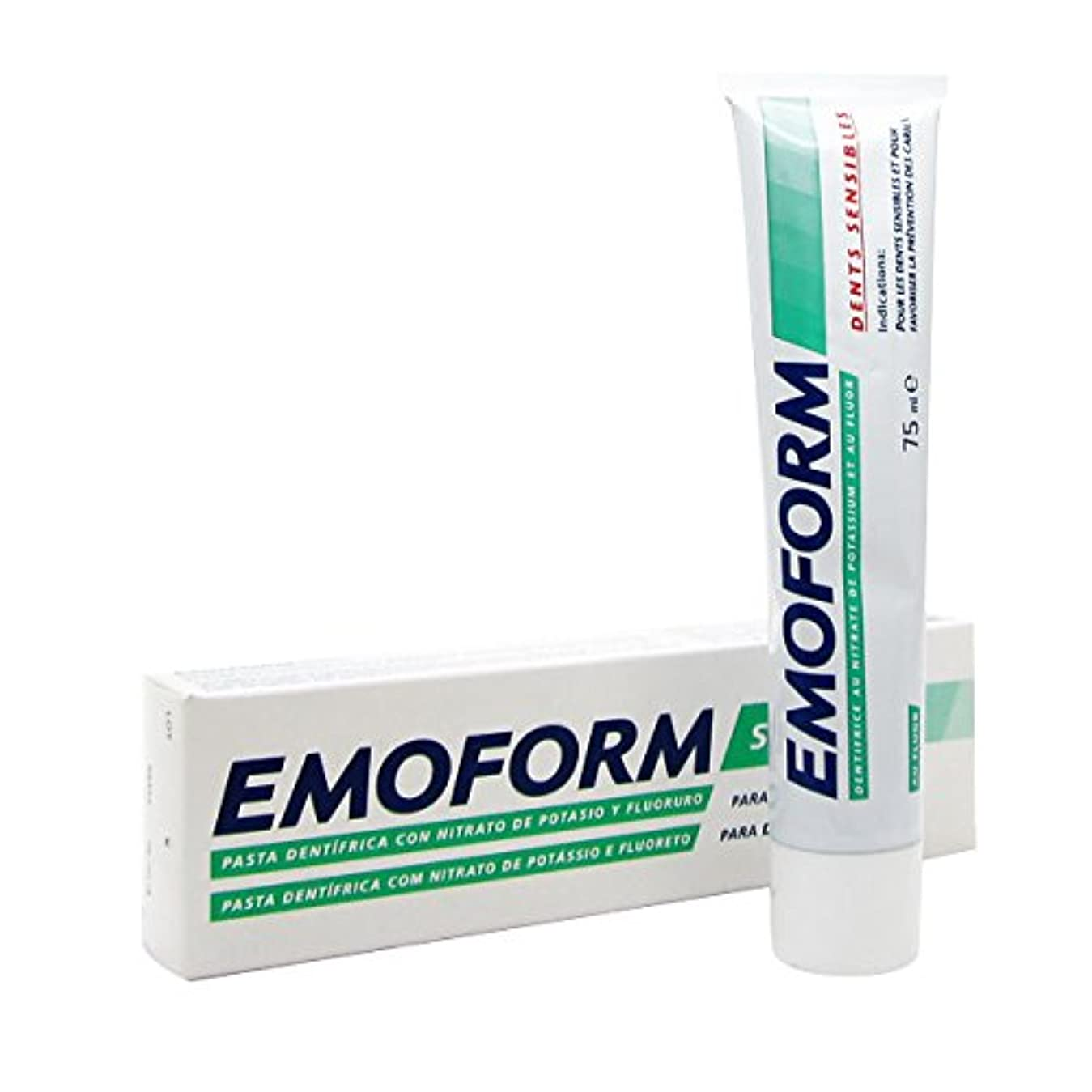 法律により家庭教師願望Emoform Sensitive Toothpaste 75ml [並行輸入品]
