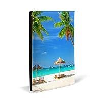 ハワイ PUレザー ブックカバー A5サイズ 文庫本サイズ ブックカバー 新書サイズ 選べるイニシャル ブックカバー