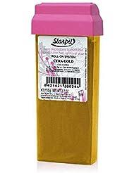 プロ用?業務用ブラジリアンワックス|ロールオンワックスStarpil Wax:ゴールド(ORO) 110g 5本セット