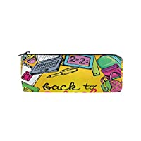 U LIFE BACK TO SCHOOL Season Hello Welcomeペン鉛筆ホルダーケースバッグポーチ財布Cosmeticメイクアップバッグ
