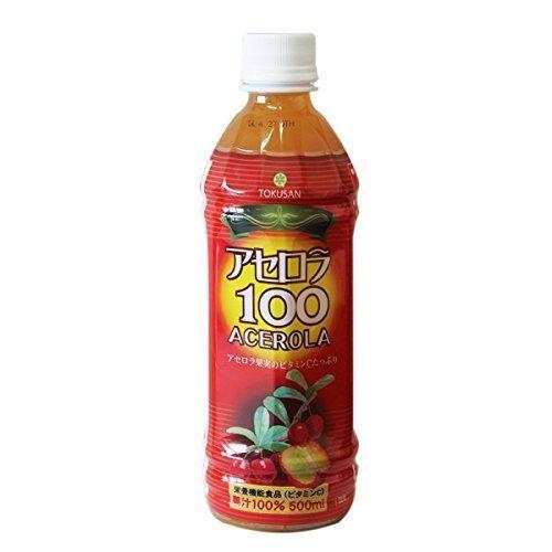 アセロラ100(果汁100%)500ml×24本