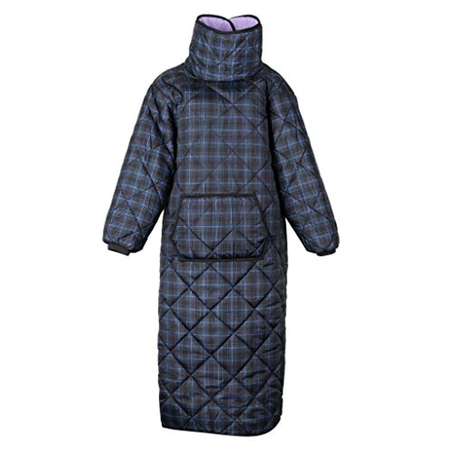 Toygogo 冬の風邪の保護衣類のコートのマットパッドのポケットが付いている熱キルトの羽毛布団