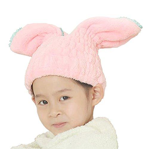 [해외]BEATON JAPAN 드라이 캡 헤어 캡 흡수 속건 토끼 귀 귀여운 목욕 수영장 수건 모자 헤어 드라이/BEATON JAPAN Dry Cap Hair Cap Water Absorption Quick-drying Rabbit Ear Cute Bathing Raised Pool Towel Cap Hair Dry