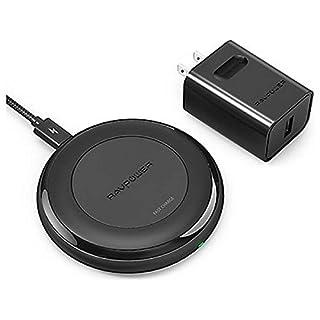 ニアバイダイレクトジャパン 無接点[Qi対応] RAVPower Alpha Series Fast Charge Wireless Charging Pad 非接触充電器 RP-PC058