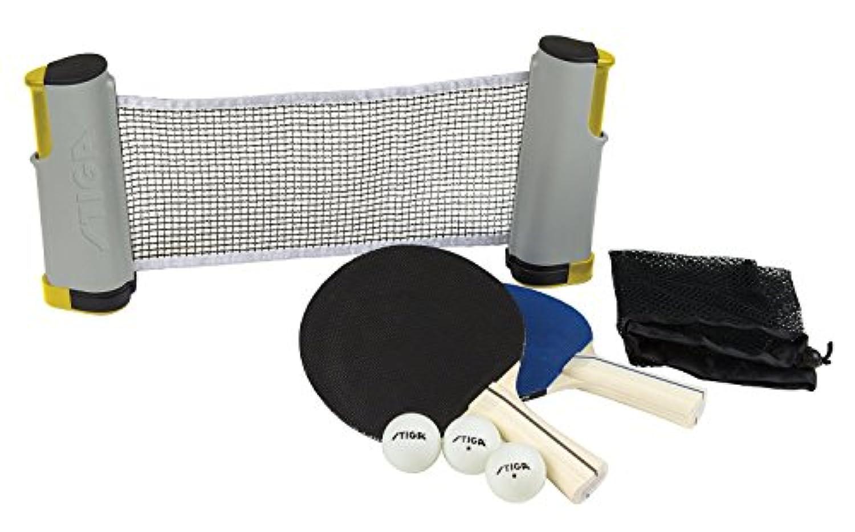 STIGA Retractable Anywhere Table Tennis Set [並行輸入品]