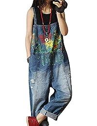 Vigor Girls サロペット レディース デニム 大きいサイズ ワイドパンツ オールインワン パンツ ゆったり カジュアル 薄手 春夏