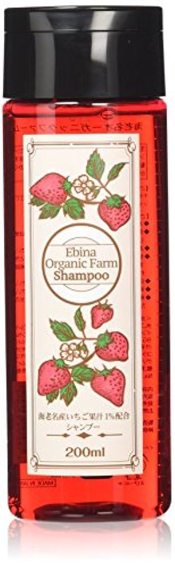 実質的離すモトリーEbina Organic Farm いちごシャンプー200mL