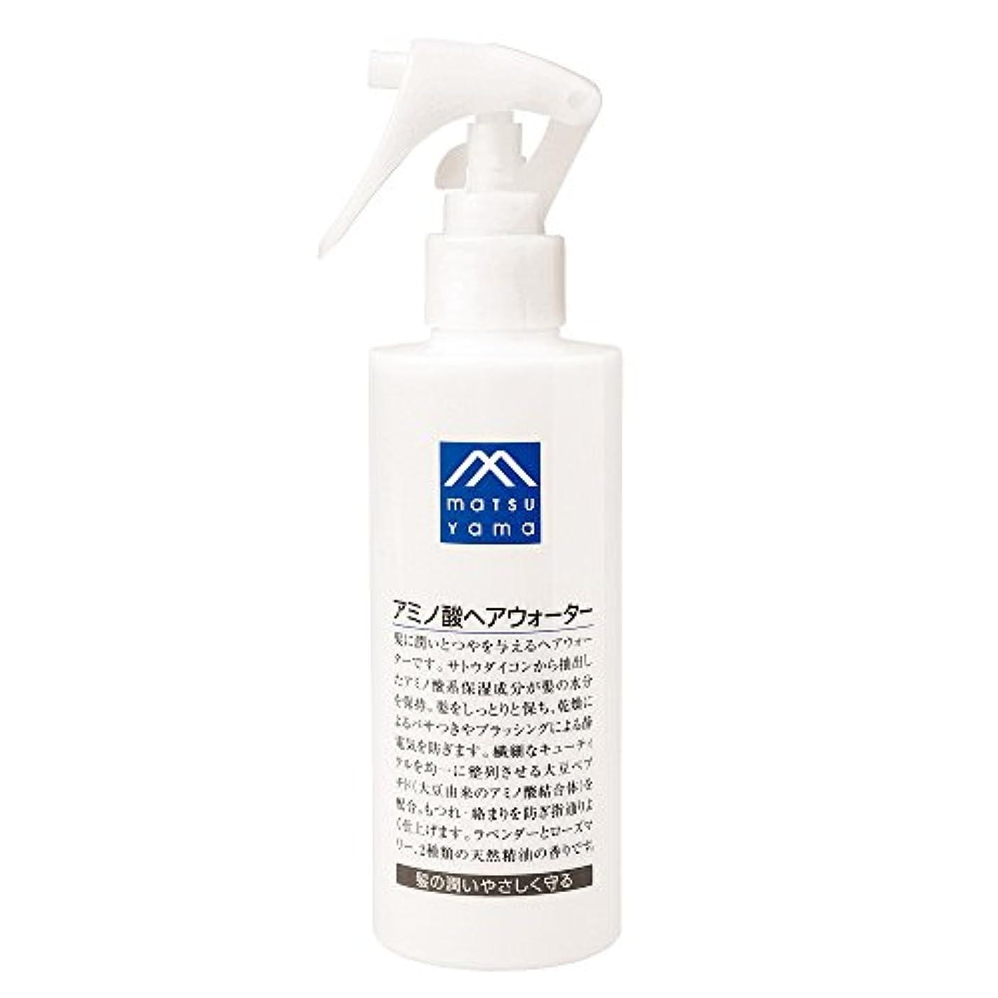 消毒する楽な石炭M-mark アミノ酸ヘアウォーター