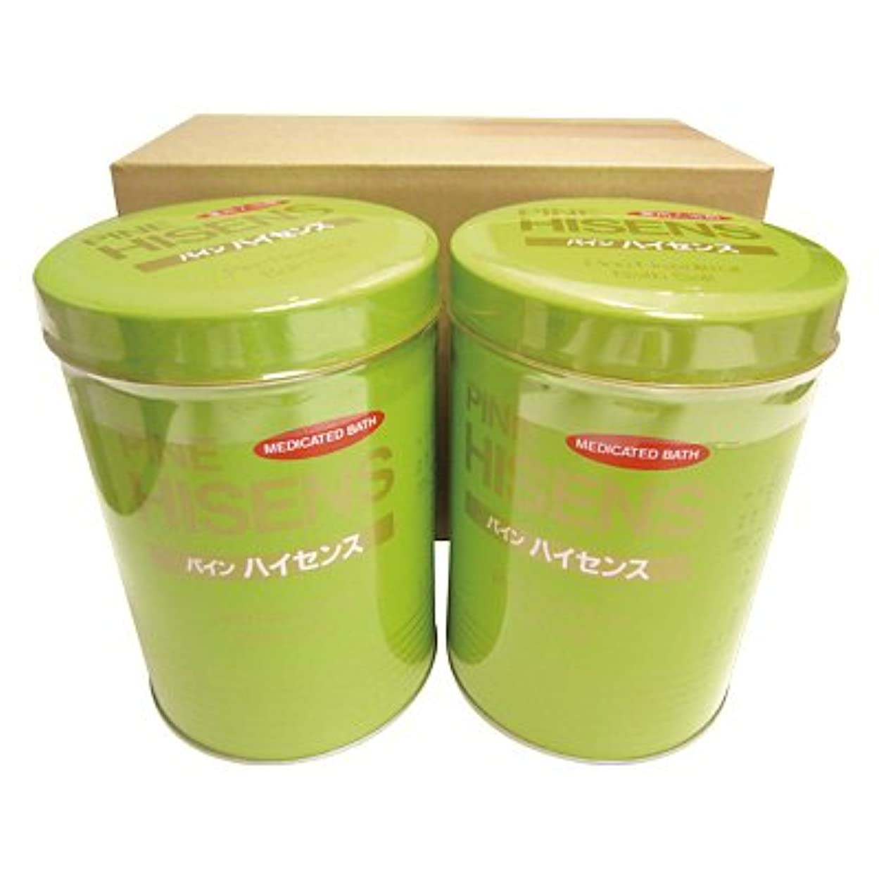 テニスお金グラフィック高陽社 薬用入浴剤 パインハイセンス 2.1kg 2缶セット