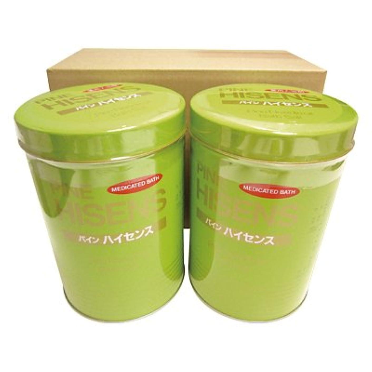 尊敬する同意ラウズ高陽社 薬用入浴剤 パインハイセンス 2.1kg 2缶セット