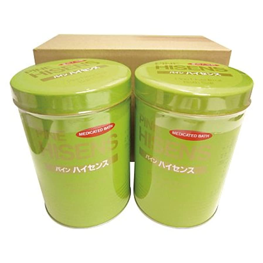 歴史作り織る高陽社 薬用入浴剤 パインハイセンス 2.1kg 2缶セット