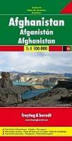 Afghanistan Road Map 1:1 100 000