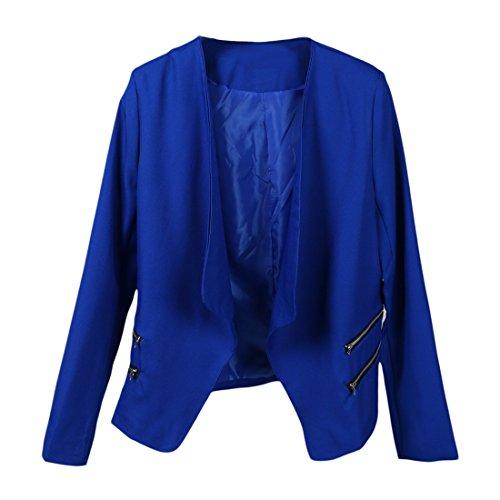 女性スーツ,SODIAL(R)女性のビンテージ ベーシックス...