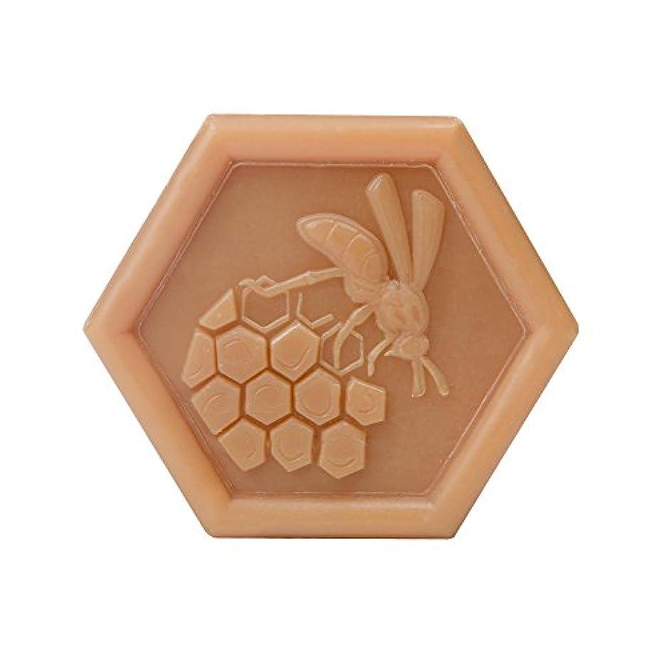 顕微鏡行為ネコPlantes&Parfums [プランツ&パルファム] ハニーソープ100g ミツロウ