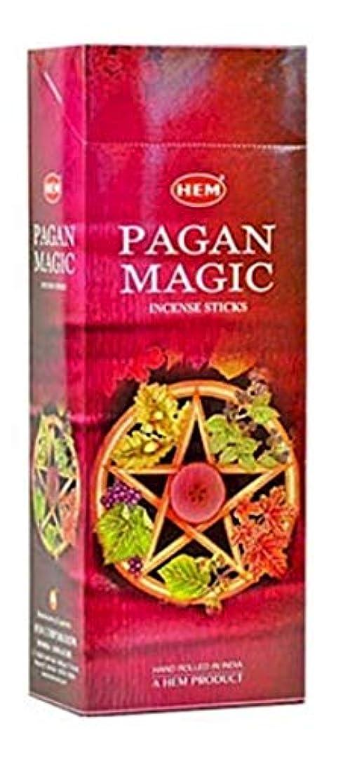 バタフライランチョン進むHEM(ヘム)社 パガンマジック香 スティック PAGAN MAGIC 6箱セット