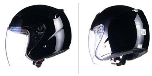 リード工業 バイクヘルメット ジェット STRAX SJ-8 ブラック LL SJ-8 BK-LL