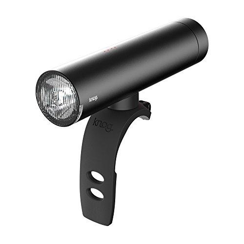 knog(ノグ) パワーライダー [PWR RIDER] LEDフロントライト 450ルーメン バッテリー内蔵型 モバイルバッテリーとしても使用可能 【日本正規品/2年間保証】 ブラック