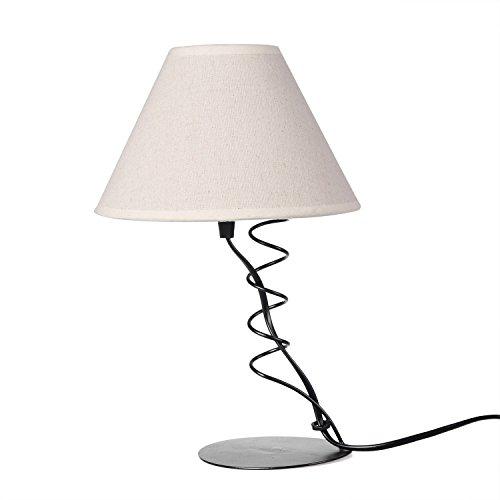 OYGROUP ベッドサイドライト レトロ デスクライト 北欧 テーブルランプ 照明器具 E12