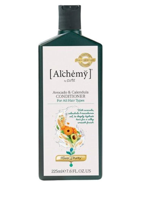 ひどいマインド農民【Al'chemy(alchemy)】アルケミー アボカド&カレデュラ コンディショナー(Avocado&Calendula Conditioner)(ドライ&ロングヘア用)225ml
