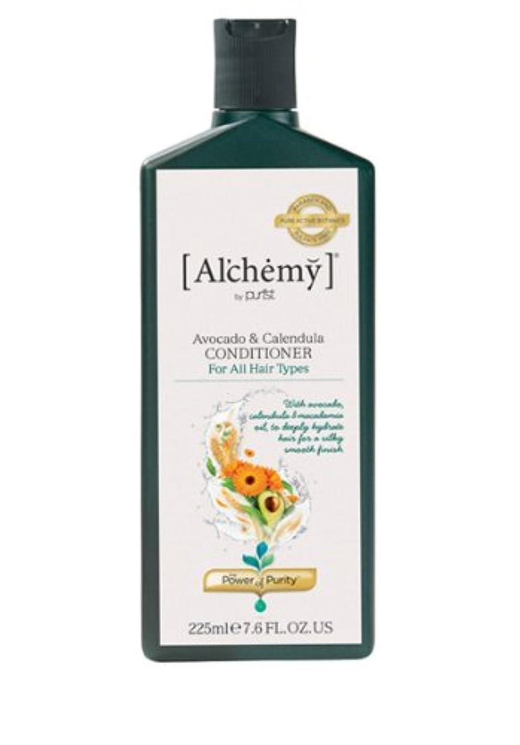 その結果仕様広げる【Al'chemy(alchemy)】アルケミー アボカド&カレデュラ コンディショナー(Avocado&Calendula Conditioner)(ドライ&ロングヘア用)225ml
