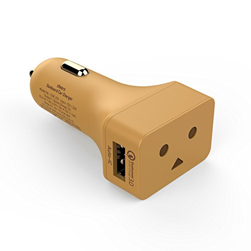 cheero DANBOARD CAR CHARGER Quick Charge 3.0対応 カーチャージャー 2ポート 28W DC12V/24V対応 (Original color)