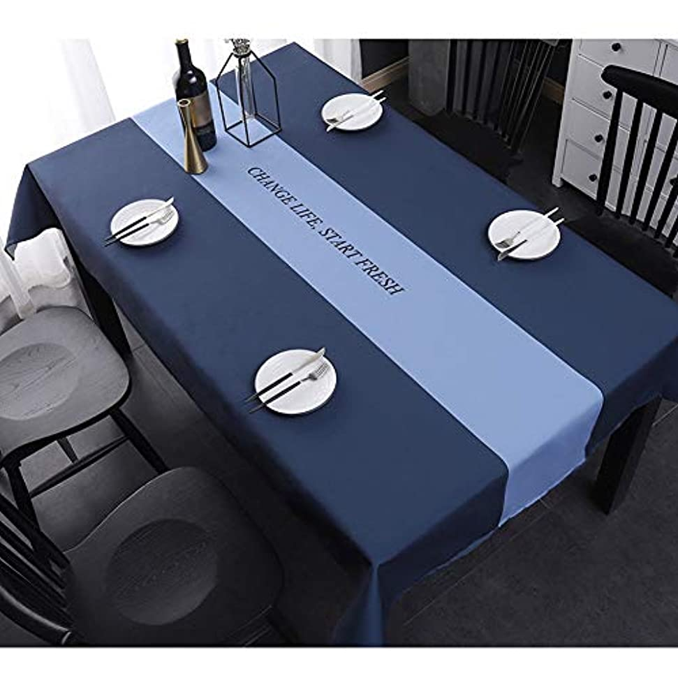 直径懺悔できればテーブルクロス テーブルクロスポリエステル繊維防水長方形テーブルカバー家庭用テーブルクロステーブルマットキッチン防塵テーブルクロスダイニングテブル屋外または屋内ピクニックガーデンキッチン用テーブル装飾
