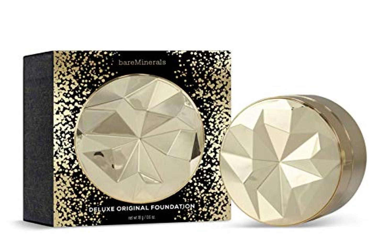 こだわりブースロバベアミネラル Collector's Edition Deluxe Original Foundation Broad Spectrum SPF 15 - # Medium Tan 18g/0.6oz並行輸入品