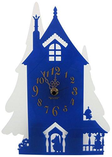 MOOMIN シルエット時計 ムーミン屋敷 KC-5018
