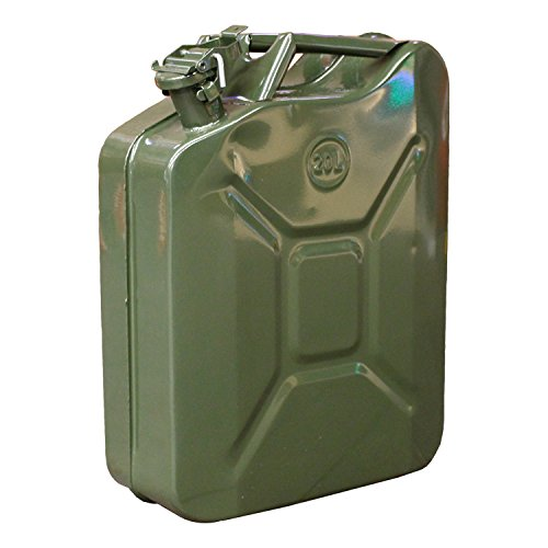 USミリタリー 20L スチール製 ジェリカン 復刻版 燃料容器(日本国内使...