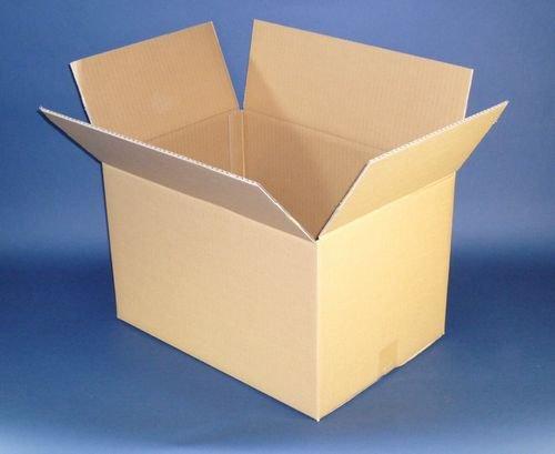 ダンボール箱120サイズ【 48×36×34cm 】5枚セット 引越し,収納,梱包用(強度アップ素材K6採用) / ボックスバンク