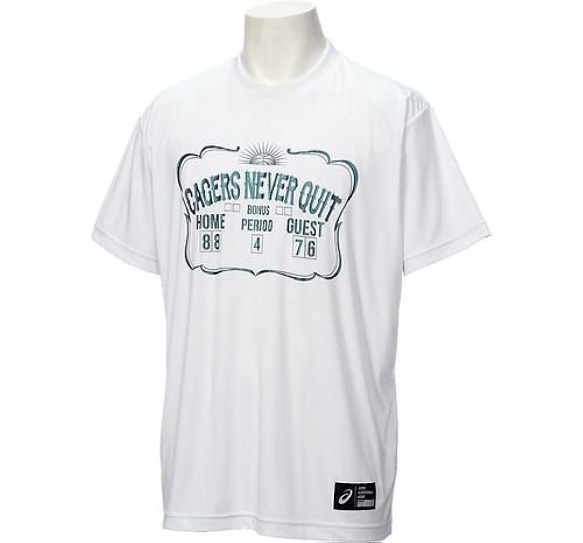 [해외] 아식스 프린트T셔츠 HS 화이트A XB6607 01A-