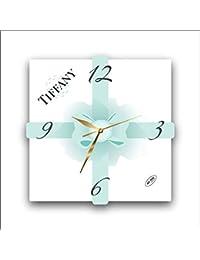 Tiffany & Co.11'' 壁時計( ティファニー&カンパニー)あなたの友人のための最高の贈り物。あなたの家のためのオリジナルデザイン