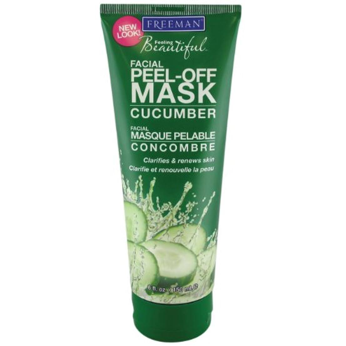 あいさつ歪めるパン屋Freeman Facial Peel-Off Mask Cucumber 150 ml (並行輸入品)