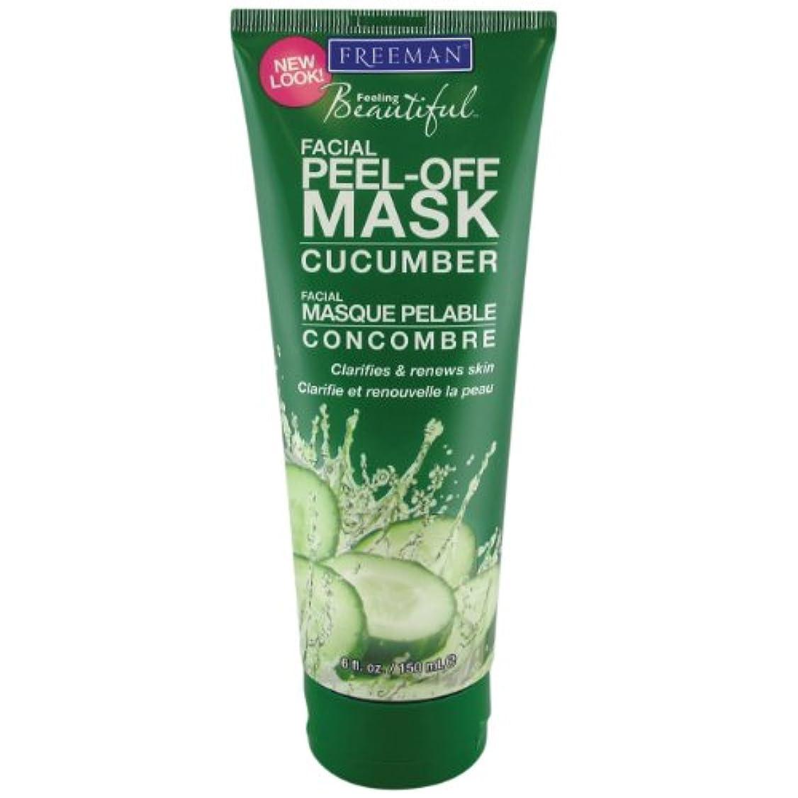 奨学金協同あごFreeman Facial Peel-Off Mask Cucumber 150 ml (並行輸入品)