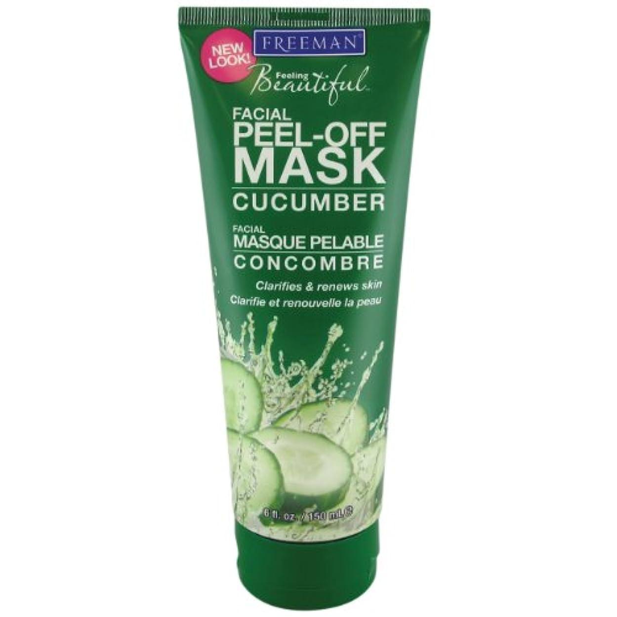 子音認証バッフルFreeman Facial Peel-Off Mask Cucumber 150 ml (並行輸入品)
